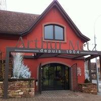 Photo taken at Caveau Arthur Metz by Céline S. on 1/10/2013