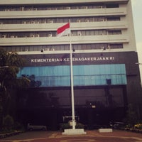Photo taken at Kementerian Tenaga Kerja dan Transmigrasi RI by Risman M. on 10/16/2015