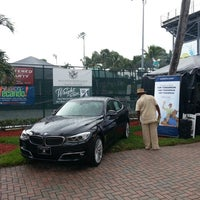 Photo taken at Delray Beach International Tennis Championships (ITC) by Wecando P. on 11/16/2013