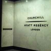 Photo taken at Hyatt Regency London - The Churchill by H M. on 1/6/2013