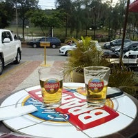 Photo taken at Quiosque Chopp Brahma by Roberta A. on 12/4/2012