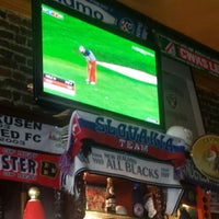 Photo taken at Fat Boy's Sports Bar & Grill by Olivier V. on 9/28/2014