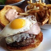 Photo taken at 5 Napkin Burger by Nicholas F. on 1/19/2013
