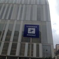 Photo taken at Siège de la Banque Postale by Stephane M. on 7/21/2014