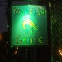 Photo taken at Madfish Grille by Mindy J. on 7/14/2013