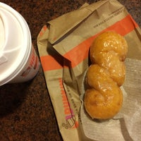 Photo taken at Dunkin' Donuts by Brian M. on 10/11/2014
