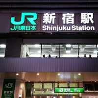 Photo taken at Shinjuku Station by Noritney on 7/26/2013