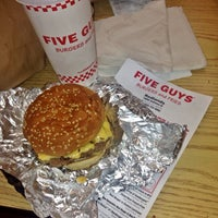 Photo taken at Five Guys by Abdulkareem A. on 4/21/2014