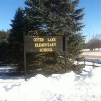 Photo taken at Otterlake Elementary by jennie o. on 3/8/2013