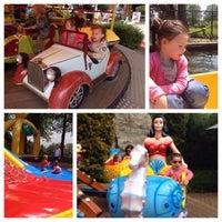 Photo taken at Amusementspark Tivoli by Miel on 5/8/2015