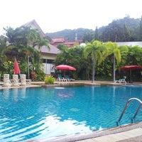 Photo taken at Timber House Resort Krabi by Chiara & Poldins on 11/13/2013