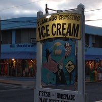 Photo taken at Flamingo Crossing Ice Cream by Kar M. on 4/20/2014