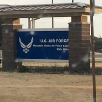 Photo taken at Mountain Home AFB by Darren L. on 9/4/2016