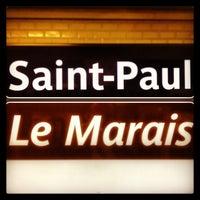 Photo prise au Hôtel Saint-Paul le Marais par Xavier C. le7/16/2013