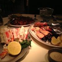 Photo taken at Joe's Seafood, Prime Steak & Stone Crab by Brigitte C. on 3/18/2013
