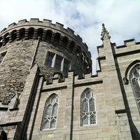 Photo taken at Dublin Castle by Sabine on 4/21/2013