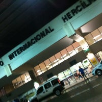 Photo taken at Aeroporto Internacional de Florianópolis / Hercílio Luz (FLN) by Tatiana N. on 3/12/2013