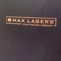 Photo taken at Max Lager's Wood-Fired Grill & Brewery by Jonathan C. on 3/30/2013