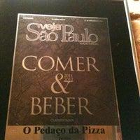 Photo taken at O Pedaço da Pizza by Fulvio M. on 6/6/2013