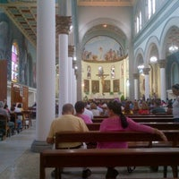 Photo taken at Iglesia Santa Eduvigis by Cesinha P. on 12/9/2012