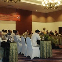 Photo taken at Aston Tanjung City Hotel by Bastle S. on 5/28/2014