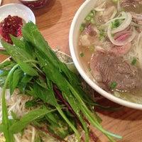 Photo taken at Pho Soc Trang by Lisa Rose S. on 4/13/2013
