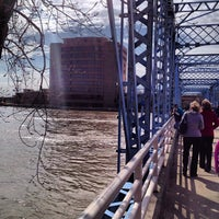 Photo taken at Blue Bridge by Lisa Rose S. on 4/21/2013