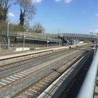 Photo taken at Kildare Railway Station by Hettie S. on 4/20/2016