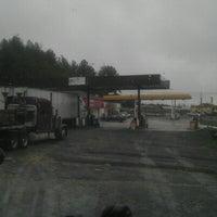 Photo taken at Ponderosa Truck Stop by Jeremy W. on 1/15/2013