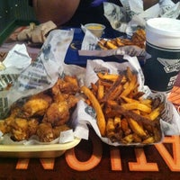 Photo taken at Wingstop by Jared F. on 10/16/2012