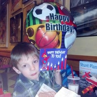 Photo taken at Red Robin Gourmet Burgers by Brenda on 1/31/2013