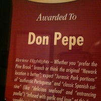 Photo taken at Don Pepe Restaurant by Evan F. on 8/11/2012