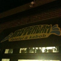 Photo taken at Amsterdam Falafel & Kabob by Michael B. on 8/13/2011