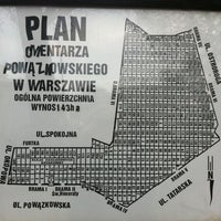 Photo taken at Cmentarz Powązkowski by Ivona D. on 10/24/2011