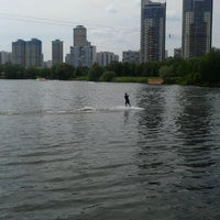 Photo taken at Траектория Wake Park by Михаил К. on 5/22/2012