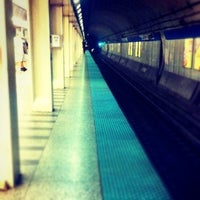 Photo taken at CTA - Chicago (Blue) by Charlotte E. on 9/1/2012