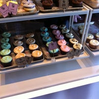 Photo taken at Cupcake Royale and Verite Coffee by Karen W. on 4/23/2011