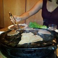 Photo taken at Shin Chon Garden Restaurant by Dee C. on 9/13/2011