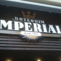 Photo taken at Botequim Imperial by Eduardo Abreu on 9/4/2012