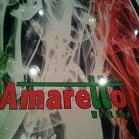 Photo taken at Amaretto by Gerard H. on 10/1/2011