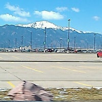 Photo taken at Colorado Springs Airport (COS) by Michelle K. on 3/29/2011