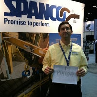 Photo taken at Gorbel - Booth #3623 by Steve on 3/24/2011
