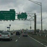 Photo taken at Cross Bronx Expressway (I-95) by Brian C. on 11/22/2011