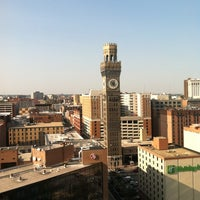 Photo taken at Hilton Baltimore by Dena S. on 8/31/2012