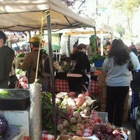 Photo taken at Farmers Market on Cortelyou by Ravish M. on 10/16/2011