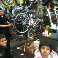 Photo taken at Roy's Sheepshead Cycle by Ram M. on 3/29/2012