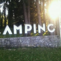 Photo taken at Camping Bled by Ales P. on 4/17/2011