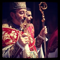 Photo taken at St. Vartan Armenian Cathedral by No N. on 4/12/2012