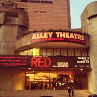 Photo taken at Alley Theatre by ALEX R. on 3/24/2012