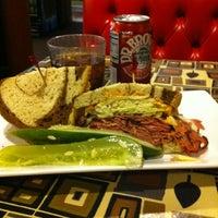 Photo taken at Rubin's Kosher Delicatessen by Tom B. on 11/28/2011